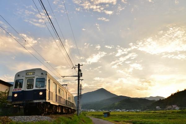 2014年9月9日 上田電鉄別所線 別所温泉~八木沢 7200系7253F