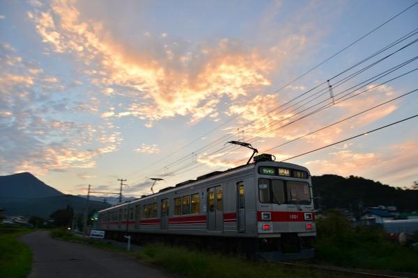 2014年9月9日 上田電鉄別所線 舞田~八木沢 1000系1001F