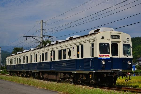 2014年9月10日 上田電鉄別所線 八木沢~舞田 7200系7253F