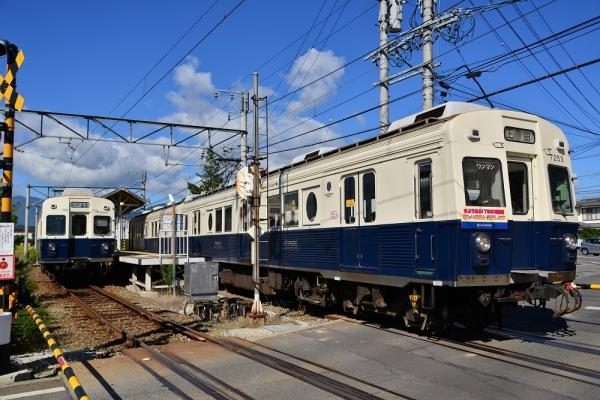2014年9月14日 上田電鉄別所線 上田原 7200系7255F/7253F
