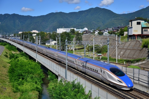 2014年9月14日 JR東日本長野新幹線 上田~佐久平 E7系F5編成