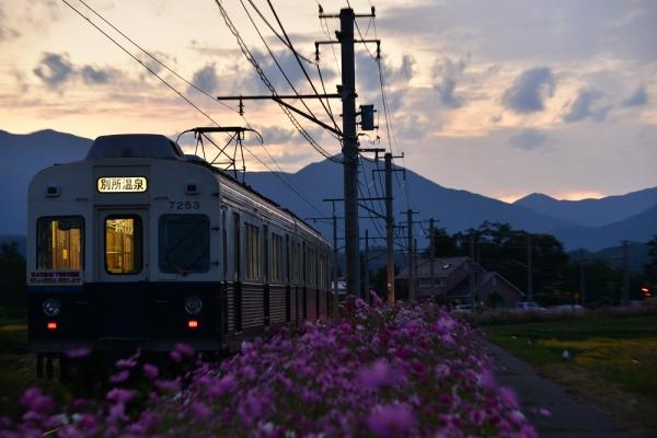 2014年9月26日 上田電鉄別所線 下之郷~中塩田 7200系7253F