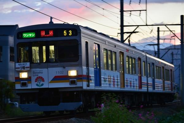 2014年9月27日 上田電鉄別所線 塩田町~中野 1000系1002F