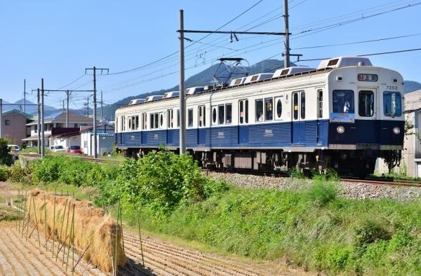 2014年9月27日 上田電鉄別所線 赤坂上~三好町 7200系7253F