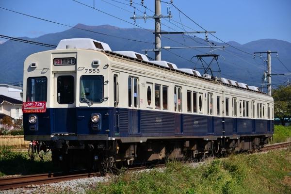 2014年9月27日 上田電鉄別所線 三好町~赤坂上 7200系7253F