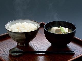 味噌汁とご飯