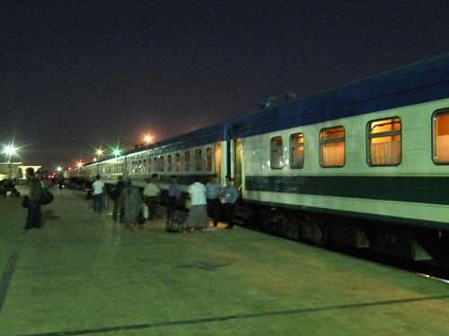 寝台列車(ウズベキスタン)