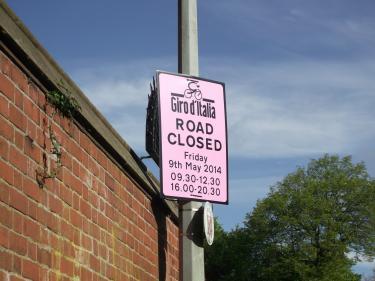 Giro Road Closed