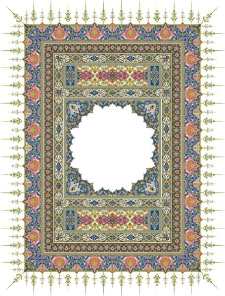 緻密なレース模様が美しいフレーム beautiful classical pattern lace4