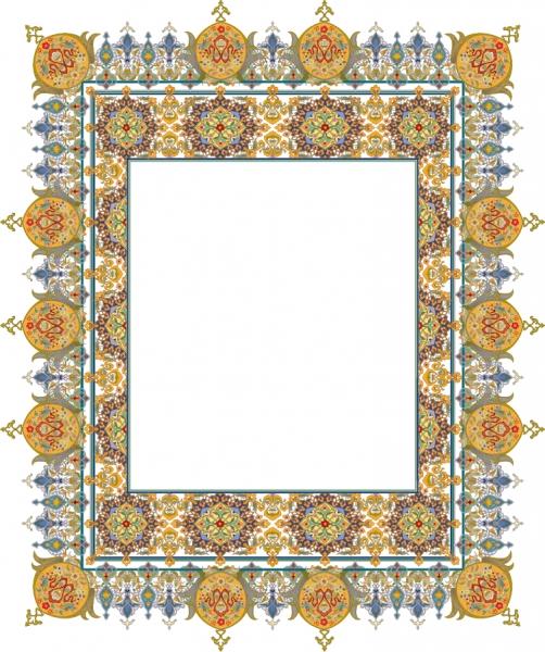 緻密なレース模様が美しいフレーム beautiful classical pattern lace5