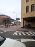 台北駅近くの小道