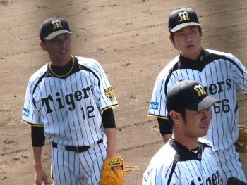 絵日記10・8鳴尾浜投手1
