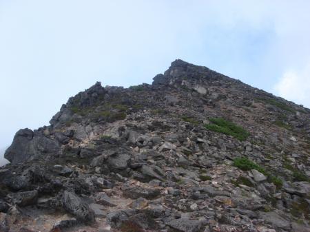 男性的な岩山だね~