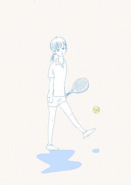 テニスコート カラー