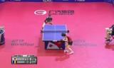 石川佳純VSサマラ(準決勝)チェコオープン2014