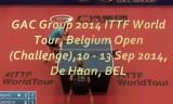 阿部恵VSポータ ベルギーオープン2014