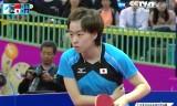 石川佳純VS劉詩文(決勝)アジア大会2014