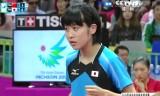 平野美宇VS朱雨玲(決勝)アジア大会2014