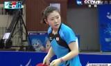 福原愛VS丁寧(決勝)アジア大会2014