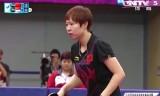 朱雨玲VS馮天薇(準決勝)アジア大会2014