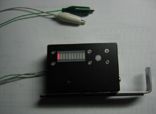 導通チェッカー+電池チェッカー外観
