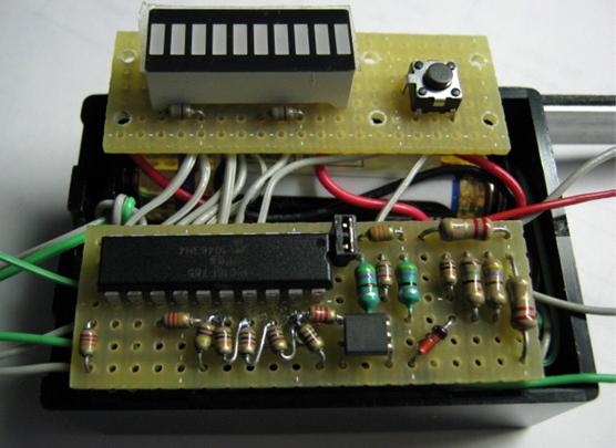 導通チェッカー+電池チェッカー基板