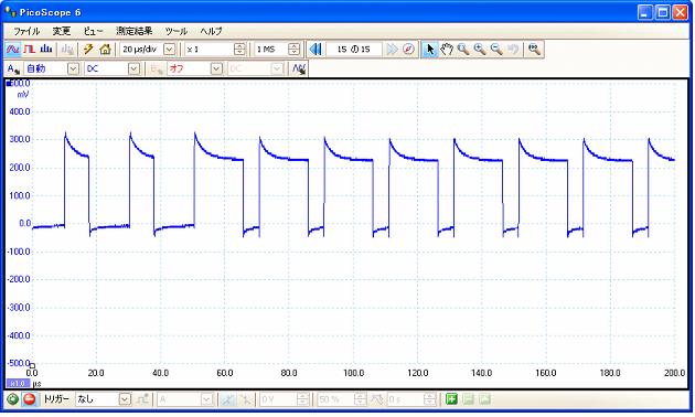 電子オルゴール信号波形2
