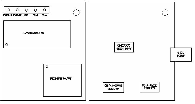 ミミクリーペット修理配置図