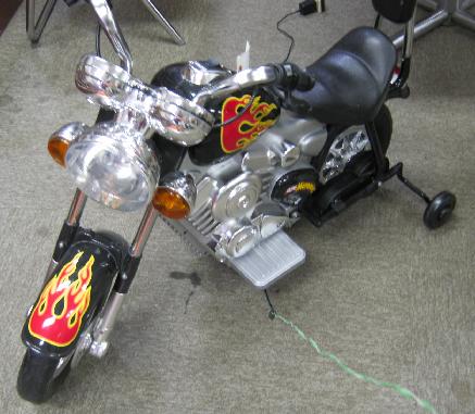 乗用バイク修理外観