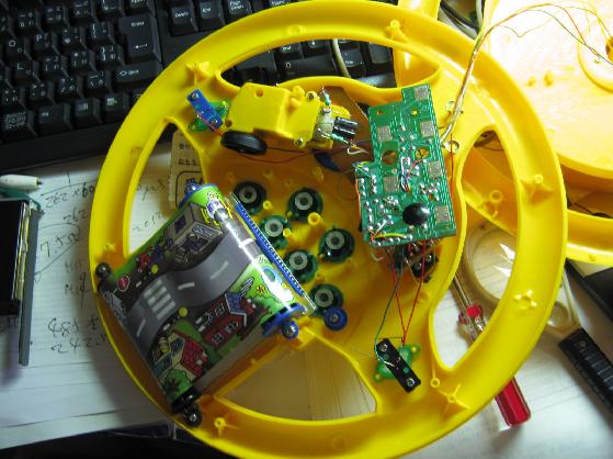 ドライブハンドル修理分解1