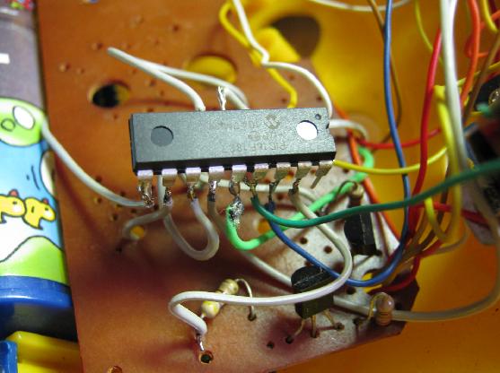 ドライブハンドル修理基板2
