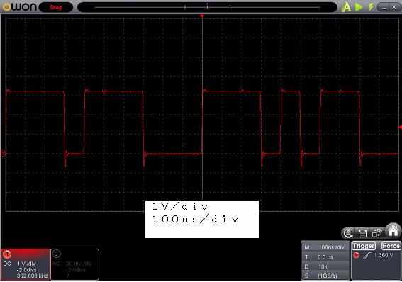 アンパンマンことばずかんDX修理後センサー波形1