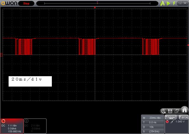 ラジコン送信機受信機ミスマッチフレーム
