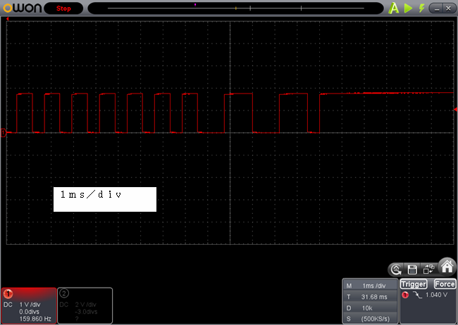 ラジコン送信機受信機ミスマッチ停止時後尾