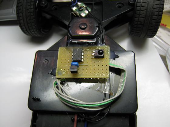 ラジコン送信機受信機ミスマッチ組付1