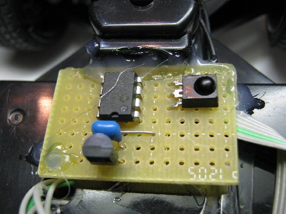 ラジコン送信機受信機ミスマッチ組付2