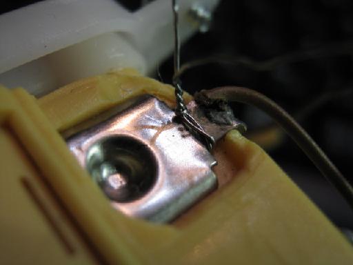 犬のぬいぐるみ修理(針金細工)修理1