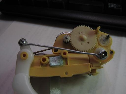 犬のぬいぐるみ修理(針金細工)修理5