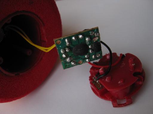 Ouaps!電子オルゴールの修理分解1