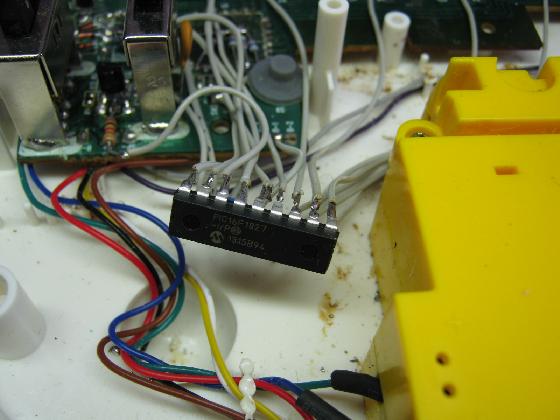 光るファーストピアノの修理実装6