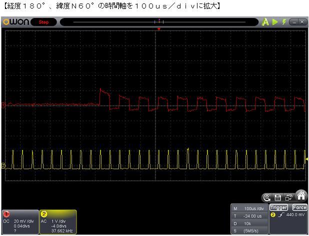 ワールドグローブの修理波形2