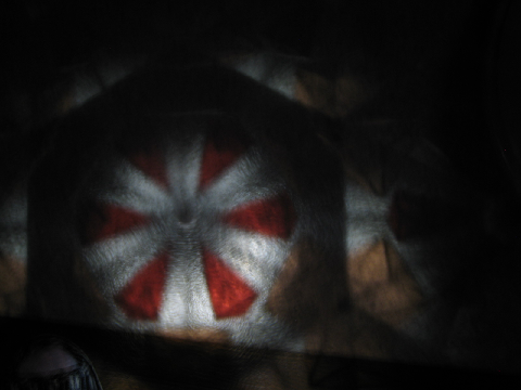 投影式万華鏡の修理交換4