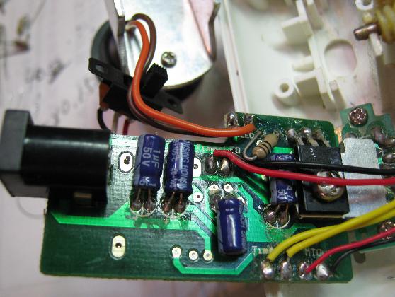投影式万華鏡の修理分解1