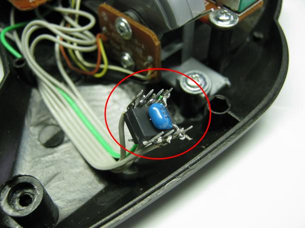 ラジコン修理送信機受信機ミスマッチ2治療2