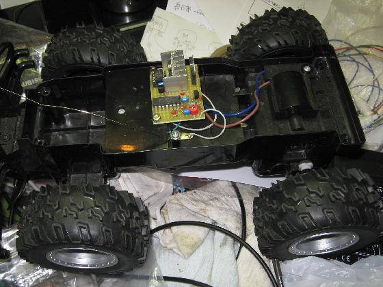 ラジコン修理送信機受信機ミスマッチ2治療7