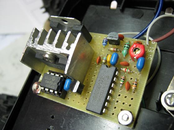 ラジコン修理送信機受信機ミスマッチ2治療6