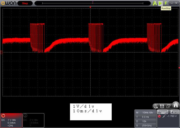 ラジコン修理送信機受信機ミスマッチ2波形5