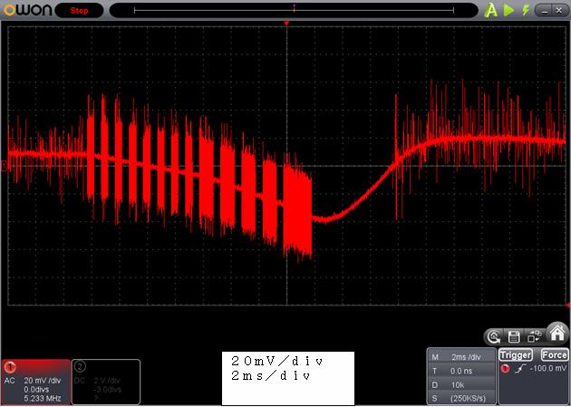 ラジコン修理送信機受信機ミスマッチ2波形2