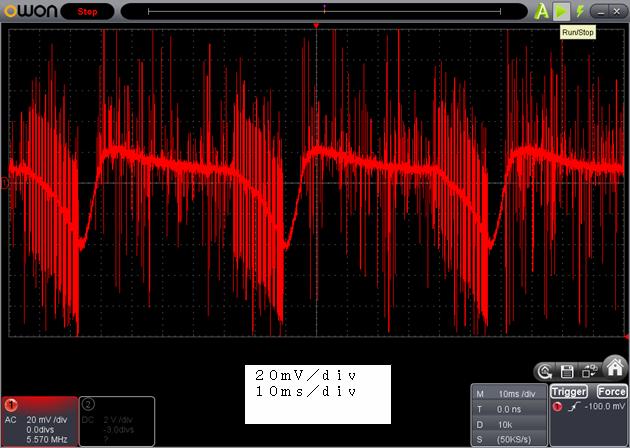ラジコン修理送信機受信機ミスマッチ2波形1