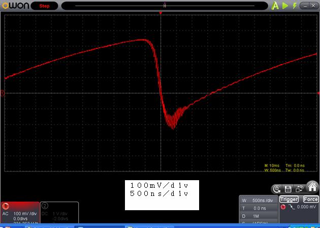 ラジコン修理送信機受信機ミスマッチ2波形3